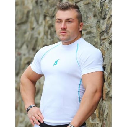 Férfi - Aesthetic Fitness - Funkcionális póló (fehér)