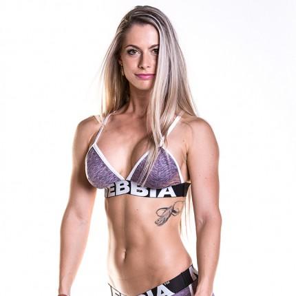 Női kollekció - NEBBIA - Fitness melltartó 267 (lila)