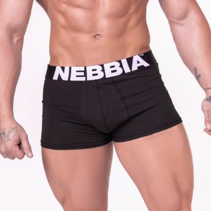 Férfi - NEBBIA - Boxeralsó 701 (fekete)