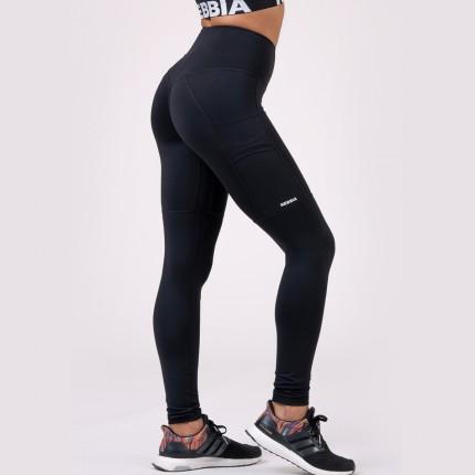 Női - NEBBIA - Leggings FIT AND SMART 505 (black)