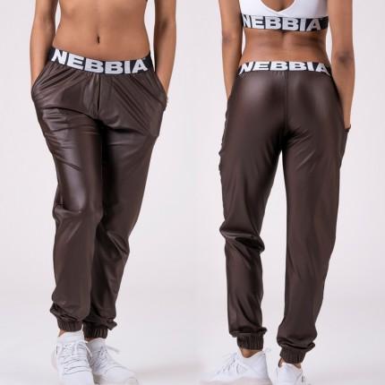 Női - NEBBIA - Női ülepes nadrág DROP CROTCH 529 (brown)