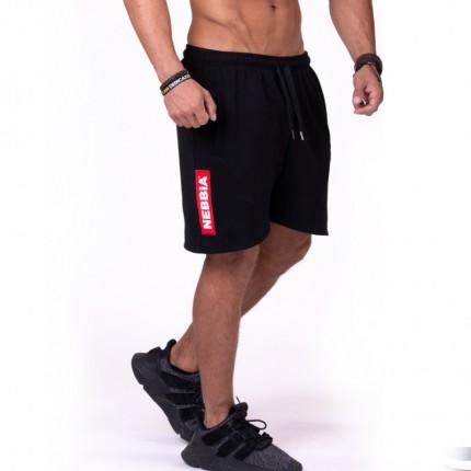 Férfi - NEBBIA - Férfi rövidnadrág RED LABEL 152 (black)