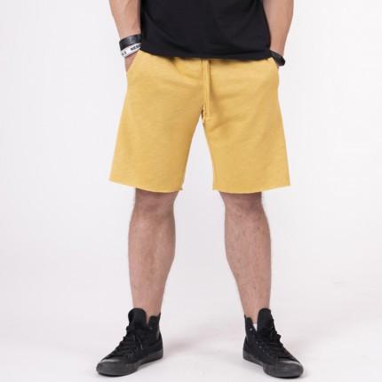 Férfi - NEBBIA - Férfi sport rövidnadrág 150 (mustard)