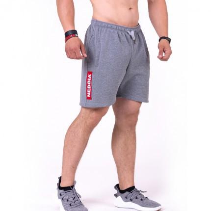 Férfi - NEBBIA - Férfi rövidnadrág RED LABEL 152 (grey)