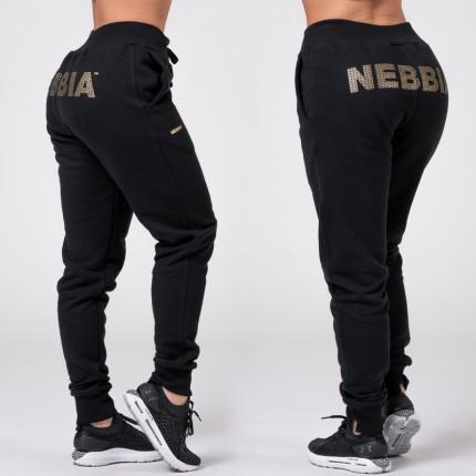 Női - NEBBIA - Gold Classic női melegítőnadrág 826 (black)