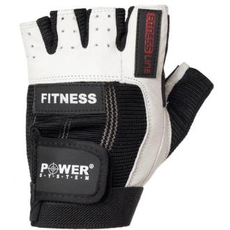 Power System - Férfi edzőkesztyű (fekete-fehér) PS-2300