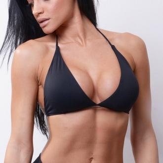 NEBBIA - Fekete bikini felső 631 (fekete)