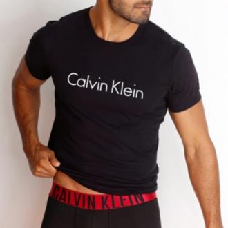 Calvin Klein - Férfi póló (fekete) NM1129E-001