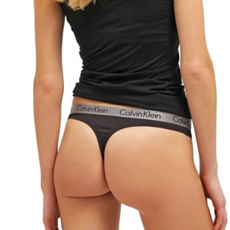 Calvin Klein - Női tanga (fekete) QD3539E-001