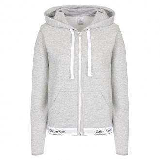 Calvin Klein - Női kapucnis pulóver (szürke) QS5667E-020
