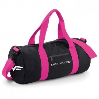 MOTIVATED - Női fitness táska 413 (fekete-pink)