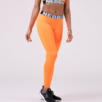 NEBBIA - Leggings SQUAD HERO 528 (orange)