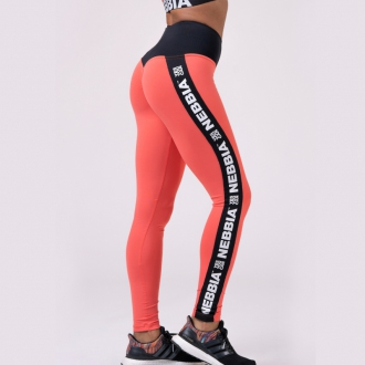NEBBIA - Leggings POWER YOUR HERO 531 (peach)