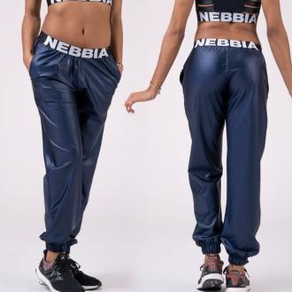 NEBBIA - Női ülepes nadrág DROP CROTCH 529 (blue)