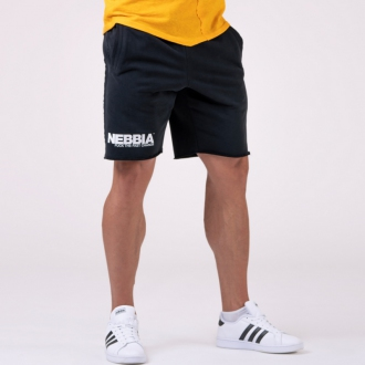 NEBBIA - Férfi edző rövidnadrág 179 (black)