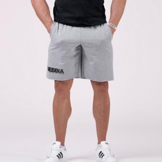 NEBBIA - Férfi edző rövidnadrág 179 (grey)