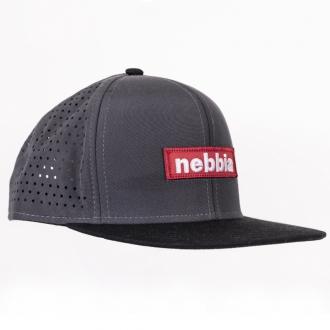 NEBBIA - Baseball sapka SNAPBACK 163 (grey)