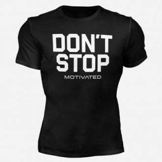 MOTIVATED - Férfi edző póló DONT STOP 325