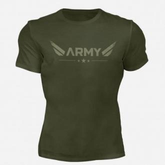 MOTIVATED - ARMY póló (zöld) 330