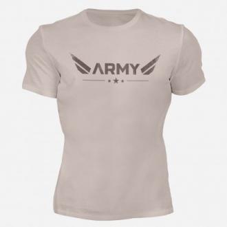 MOTIVATED - ARMY póló (homok) 316
