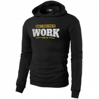 MOTIVATED - Férfi sportos pulóver WORK FOR IT 339