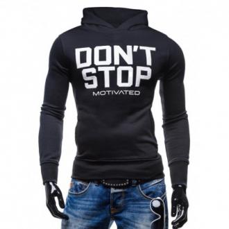 MOTIVATED - Férfi edző pulóver DONT STOP 326