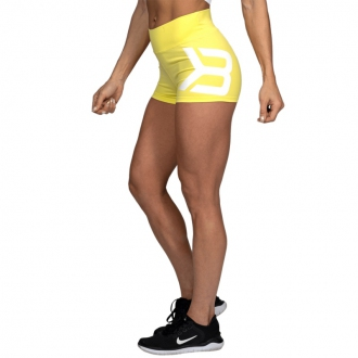 Better Bodies - Női fitness short GRACIE 110869 (lemon yellow)