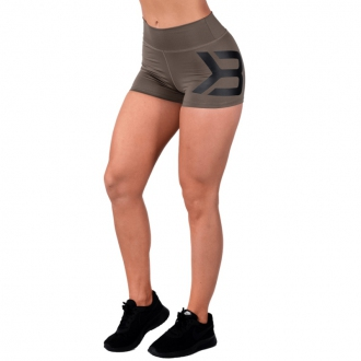 Better Bodies - Női fitness short GRACIE 110869 (wash green)