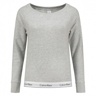 Calvin Klein - Női pulóver (szürke) QS5718E-020