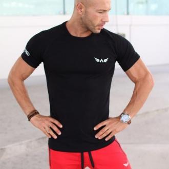 Exalted - Férfi sport póló S1 (Fekete)