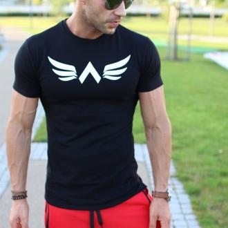 Exalted - Férfi fitness póló X1 (Fekete)