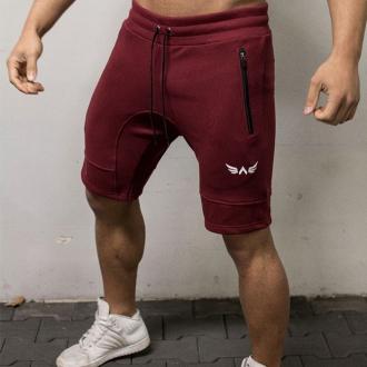 Exalted - Férfi sport rövidnadrág X1 (Bordó)