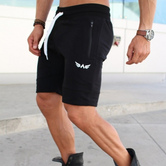 Exalted - Férfi sport rövidnadrág X1 (Fekete)