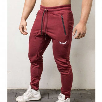 Exalted - Férfi fitness nadrág X1 (Bordó)