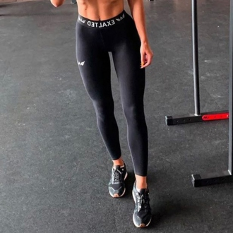 Exalted - Női edző leggings X2 (Fekete)