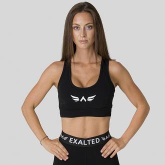 Exalted - Pamut sportmelltartó X105 (Fekete)