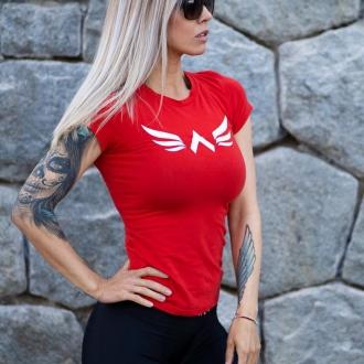 Exalted - Női edző póló X1 (Piros)