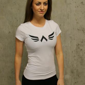 Exalted - Női edző póló X1 (Fehér)