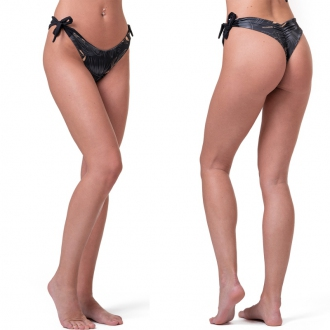 NEBBIA - Brazil fazonú bikini alsó EARTH POWERED 557 (Volcanic Black)