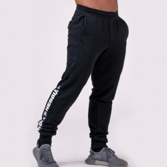 NEBBIA - Férfi edző nadrág LIMITLESS 185 (black)
